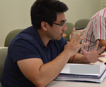 Writer Tomas Nieto